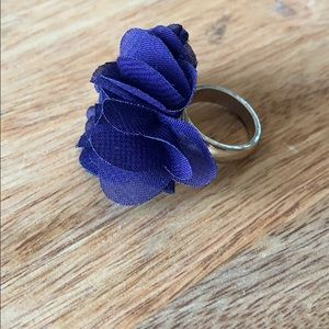 Forever 21 purple flower ring
